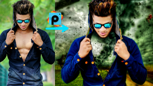 Editing Tutorial in Picsart movie poster with Picsart editing tutorial 2017